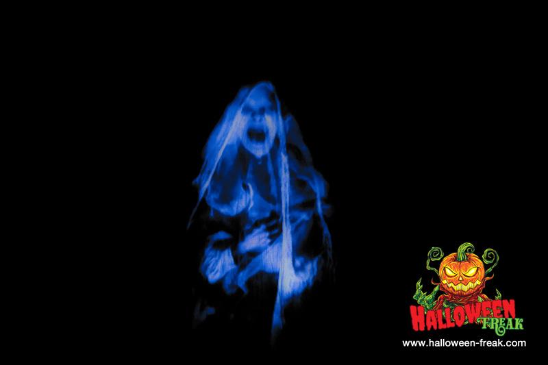 Geister 3d projektion halloween freak blog - Halloween fenster projektion ...