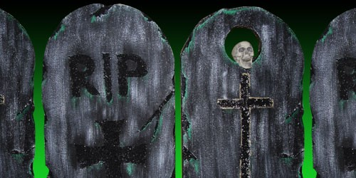 Grabsteine Header Halloween Freak