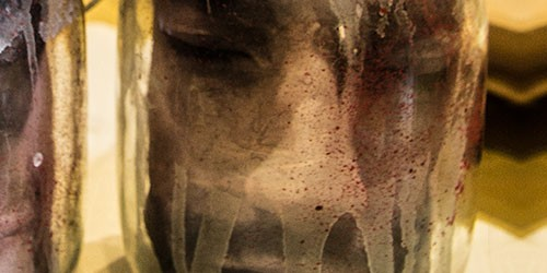 Kopf im Glas Halloween Tutorial
